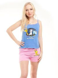 Домашний трикотажный костюм с шортами MovieStar-Голливуд. Арт. 0584