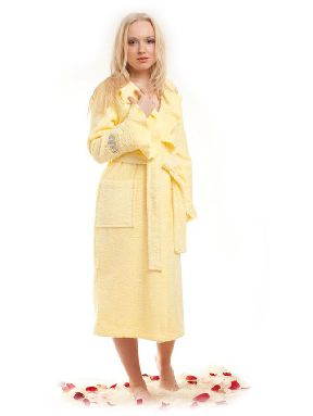 Женский махровый халат «Queen»