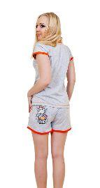 Трикотажный домашний костюм «Мышка с бантиком». Арт. 05137