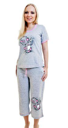 Костюм с бриджами «Мишка с сердечками» Арт. 05140