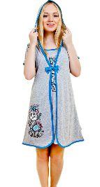 Домашний трикотажный костюм-двойка «Мышка с бантиком». Арт. 05144