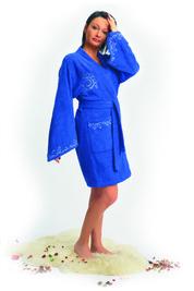 Женский махровый халат «Алиса»