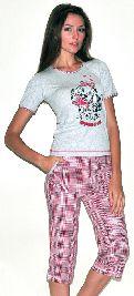 Домашний костюм с бриджами. Арт. 05140189