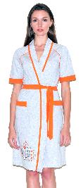 Женский трикотажный халат с рисунком. Арт.05147288
