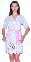 Женский трикотажный халат с рисунком. Арт.05147287