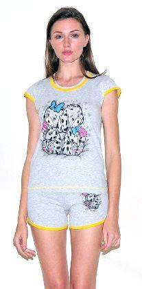 Домашний костюм - футболка шорты. Арт. 05137281
