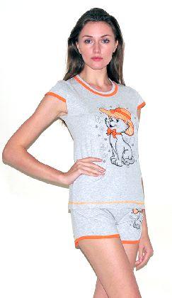 Домашний костюм - футболка шорты. Арт. 05137276