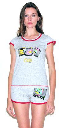 Домашний костюм - футболка шорты. Арт. 05137275