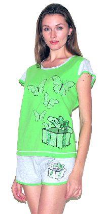 Домашний костюм - футболка c шортами. Арт.05137Г243