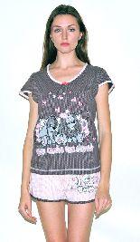 Домашний костюм - футболка и шорты. Арт.05137Г241