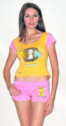 Домашний трикотажный костюм с шортами Арт. 0587422