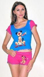 Домашний трикотажный костюм с шортами Арт. 0587419