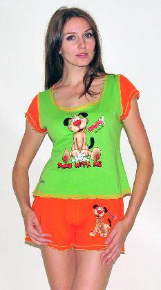 Домашний трикотажный костюм с шортами Арт. 0587418