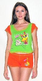 Домашний трикотажный костюм с шортами Арт. 0587417